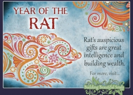 Chinese New Year the Year of the Rat 2020